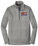 The North Face Men's Tech 1/4-Zip Fleece- Asphalt Grey